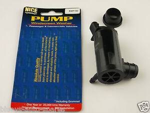HYUNDAI EXCEL X3 WINDOW WASHER PUMP FITS FRONT AND REAR PUMPS