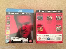 La collezione di Quentin Tarantino 5 FILM BLU RAY NUOVO SIGILLATO ** LOOK **