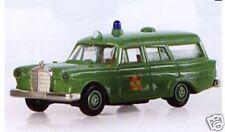 BREKINA HO - # 18752 - MB 190 Ambulance 'ASB', green