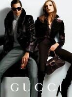 Rare Tom Ford Gucci 2005 Plum Purple Velvet Suede Leather Jacket IT 40 uk 8