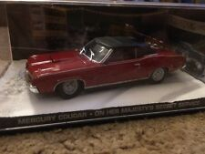 1:43 JAMES BOND 007 MERCURY COUGAR FROM ON HER MAJESTY'S SECRET SERVICE