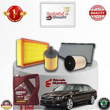 Kit Inspección Filtros + Aceite Skoda Superb II 2.0 Tdi 125KW 170CV De 2013- >