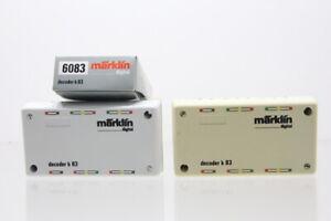 H0 Märklin 6083 2x Decoder k 83 digital Konvolut +OVP..J58