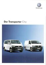 Prospekt / Brochure VW Transporter City 05/2008