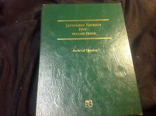 JEFFERSON NICKELS 1997- VOLUME THREE 22 COINS RESPECTIVELY IN FOLDER