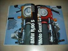 Mo revista 3469) Moto Guzzi 850 le mans i con 70ps mejor que...?