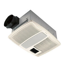 BROAN QTX110HL 110CFM Exhaust Fan with Light and Heater