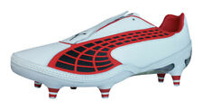 Puma V1.10 K SG Mens Leather Soccer Cleats Football Shoes Grass Studs - White