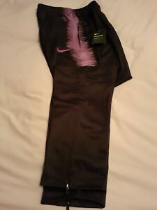 Nike Spurs Track Pants/leggings L Bnwt Black,purple