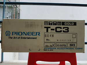 Pioneer T-C3 Auto Reverse Cassette Deck, New and factory sealed! FREE SHIPPING!
