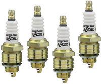 Accel Spark Plug Set 8 Shorty Header Chevy Small Block V8 265 283 307 327 350 SB