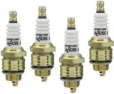 Accel Spark Plug Set 8 Shorty Header Chevy Small Block V8 265 283 307 327 350 SB