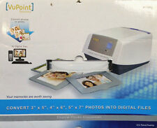 PS-C500-VP Scanner Digital Photo Converter by VuPoint 3 Sized Photo Trays New