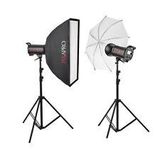 Super fast Studio Flash 800W Twin Kit Dance Sport Action Lighting High Speed