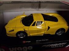 Bburago Ferrari Enzo  1/24 scale  2015 release yellow exterior new in box