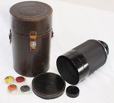Very good++ Nikon Reflex Nikkor 50cm f/5 500mm Mirror Lens w/ Case Nippon Kogaku