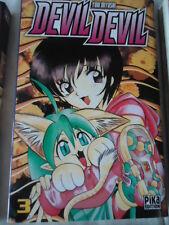 Devil Devil, tome 3 Yuki  Myoshi PIKA MANGA SHONEN ANGE DEMON JUMEAUX COMBAT