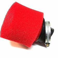 PERFORMANCE AIR FILTER SCOOTER GO KART GY6 150CC RED RED