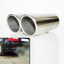 Suggerimento Auto Scarico Sportivo MARMITTA TAGLIA TUBO CROMO si adatta BMW 3 Series 320
