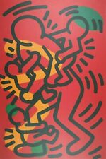 Keith Haring, Untitled 1986, Plate Signed Lithograph