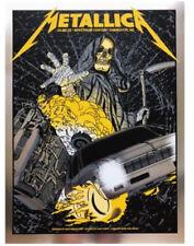 "Metallica Vip Poster Charlotte, NC 10/22/18 Spectrum Center LTD ""Foil Print"""