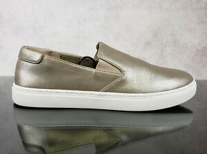 Kenneth Cole Reaction Gold Slip On Fashion Sneakers Loafers Women's 9 M