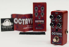 Pigtronix Octava Micro Octave / Drive / Fuzz Instrument Effect Pedal - NEW