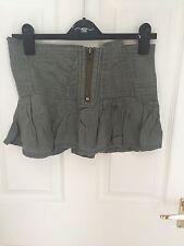 River Island Khaki Skirt Size 6