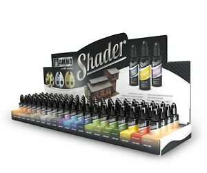 Ammo by Mig Shaders 10ml acrylic filter shading (Choose your Shader Colour)