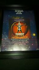 Earth, Wind, And Fire Powerlight Rare Original Promo Poster Ad Framed!