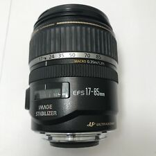 Canon EF-S 17-85mm f/4-5.6 IS USM t1i t2i t3i t4i 40D 50D 60D 70D 80D 7D