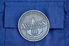 Assassins Creed III Medallion - Ignite The Revolution 1775 Washington DC Coin