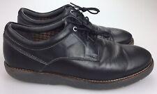 CLARKS Collection Men's 11 M Oxfords Black Soft Cushion Ortholite Dress Shoes