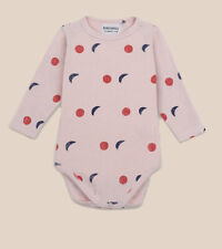 Nwt Bobo Choses Night All Over Long Sleeve BodyBaby 3-6 Months