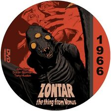 "Zontar-The Thing From Venus (1966) Sci-Fi and Horror ""B"" NR CULT Movie DVD"