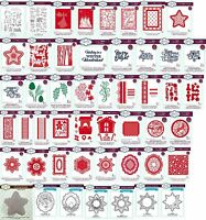 NEW CREATIVE EXPRESSIONS - SUE WILSON - Festive Collection - June 2017