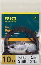 Rio Spey VersiLeader 10' 5 IPS 24 LB Free Shipping Options 6-24229