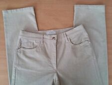 Damen Jeans Hose ZERRES Gr 38 W29 L32 hell beige Stretch Cotton Top