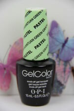 "OPI GELCOLOR Soak Off Polish ""GARGANTUAN GREEN GRAPE PASTEL   "" New/Full Size!!"