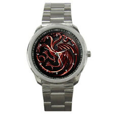 Game Of Thrones Fire And Blood Targaryen Wrist Watches New
