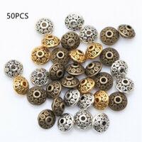 des perles de métal tibétain ovni forme diy bracelet charme perles d'espacement