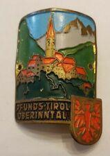 Pfunds-Tirol, Austria Stocknagel, Hiking Medallion, Badge, Pin, Used  GP12-20