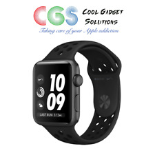 Apple Watch Nike+ Series 3 42mm Space Grey Case Anthracite/Black Sport Band GPS