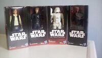 Star Wars 6 inch figures x4  - Luke Skywalker,Darth Maul,Han Solo,Snowtrooper