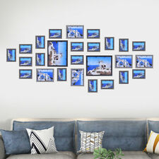 Photo Frame Wall Mount Art Home Decor Picture Tabletop Display Storage Gift 26pc