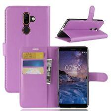 Nokia 7 plus Portable Housse Sac Case Étui de Violet 2011p