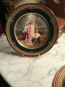Royal Vienna Hand Painted Plate / F. Koller