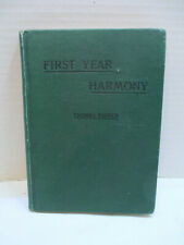 Antique First Year Harmony by Thomas Tapper, 1908 - Published 1912 or 1913 Vguc
