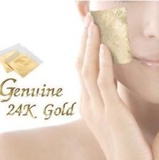 x50 Free x50 packs 24K Gold Leaf Anti-Wrinkle Facial Mask