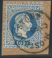 """ÖSTERREICH """"M. OSTRAU STADT"""" (Mähren, Tschechoslowakei), Fingerhut-K1 a. 10 Kr."""